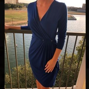 Michael Kors XS Draped cocktail dress sleeves